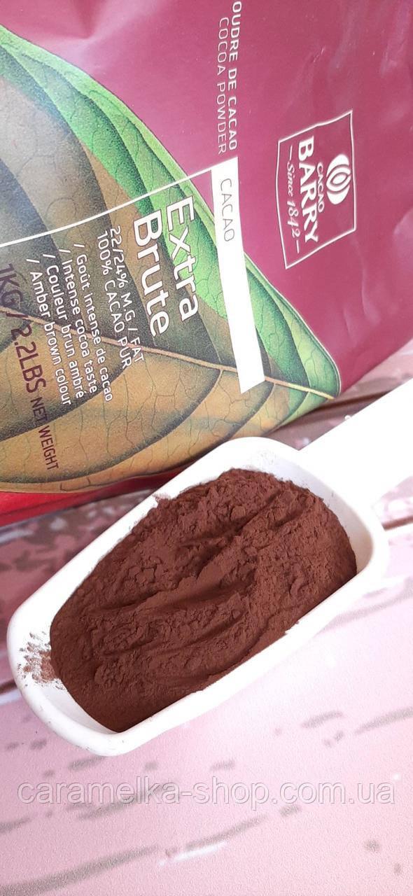Какао порошок темно-красный EXTRA-BRUTE 22-24% ( 100г )