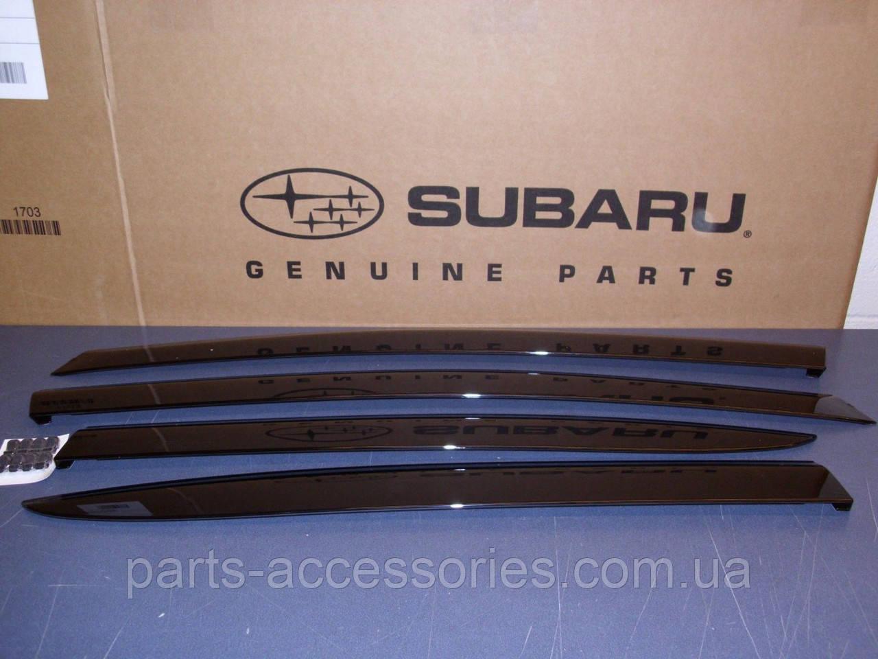 Subaru Impreza 2015 2016 WRX STI ветровики дефлекторы новый оригинальные