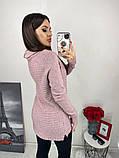 Женский вязаный теплый свитер под горло кашемир размер универсальный 44-48, фото 2
