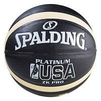Мяч баскетбольный Spalding Platinum USA №7