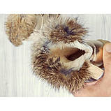 Сапожки детские зимние с опушкой золотистые Размер:27, 30, фото 4