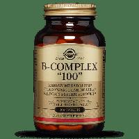 """Витамины B-комплекс, B-Complex """"100"""", Solgar, 100 таблеток"""