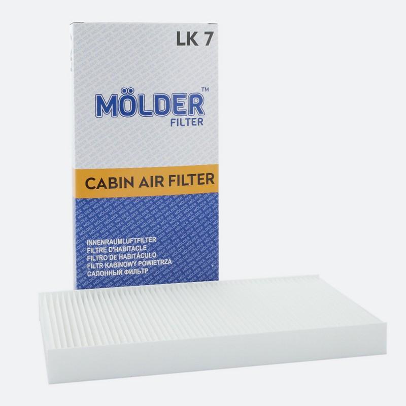 Салонный фильтр MOLDER аналог WP9034/LA117/CU3337 (LK7)