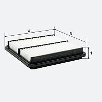 Воздушный фильтр MOLDER аналог WA6250/LX827/C2229 (LF717)