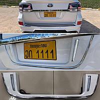Toyota LandCruiser 200 Подставка под номер LED (белая) / Разные пластиковые обвесы Тойота Ленд Крузер 200