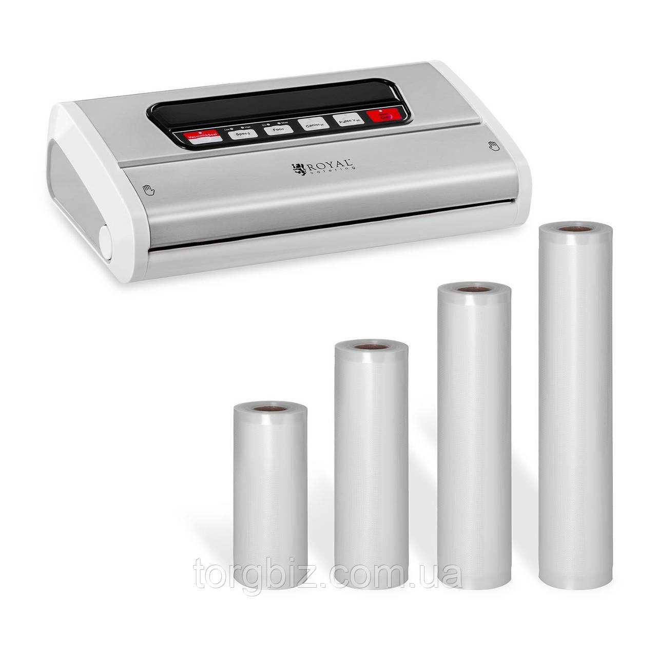 Рулони для вакуумної упаковки 25х600 см та інші (Німеччина)