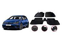 Резиновые коврики (4 шт, Niken 3D) Volkswagen Golf 7 / Резиновые коврики Фольксваген Гольф 7