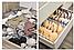 Комплект из органайзеров 3шт для хранения нижнего белья, органайзер для одежды, фото 8
