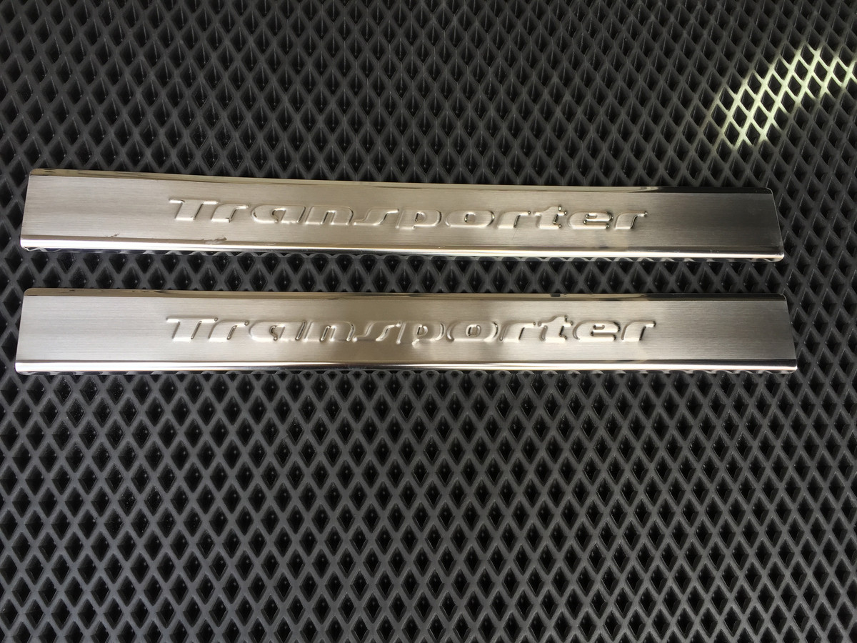 Накладки на пороги транспортер т4 б у авто в москве на авито фольксваген транспортер