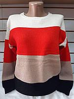 Кофты женские теплые (48-52) оптом купить от склада 7 км, фото 1