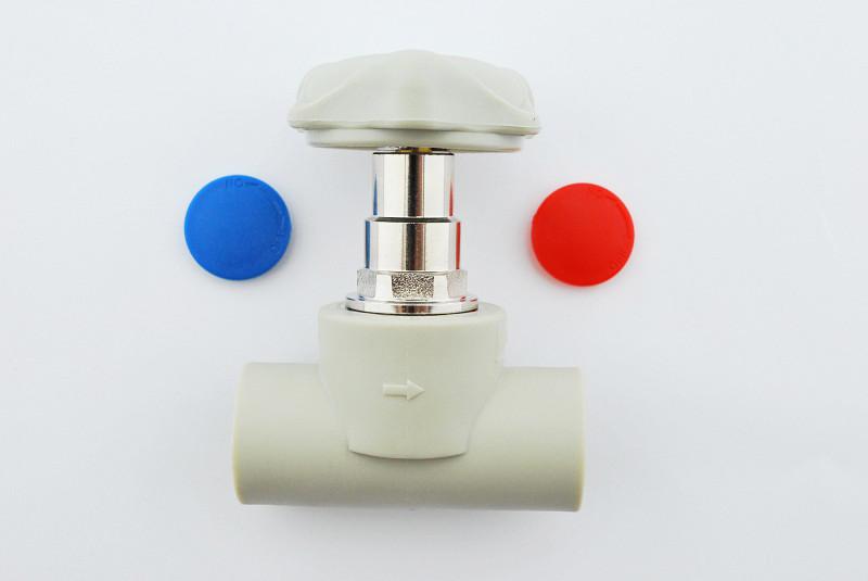 Кран вентильний для гарячої і холодної води Koer k0184.pro 25