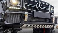Защита переднего бампера Mercedes G klass W463 1990-2018 гг. / Тюнинг переднего бампера Мерседес Бенц дж класс