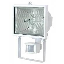 Прожектор ИО 500 Д (детектор) галогенный IP 54 Белый