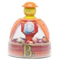 Розвивающая игрушка Battat Юла-мандаринка (BX1119Z) музичні, Від 1 року, координація руху