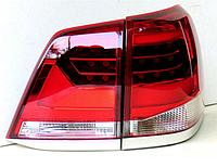Задняя оптика 2007-2015 (дизайн 2016+) Toyota LC 200 / Задние фонари Тойота Ленд Крузер 200