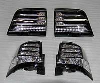 Задняя оптика 2007-2015 (BlackEdition) Toyota LC 200 / Задние фонари Тойота Ленд Крузер 200