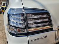 Задняя оптика 2007-2015 (Supercharger, 2 шт) Lexus LX570 / 450d / Задние фонари Лексус LX570 / 450d