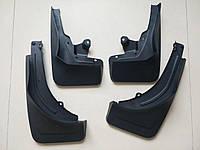 Брызговики под оригинал без порогов (4 шт) Mercedes GLE W167 / Брызговики оригинальные Мерседес Бенц джле
