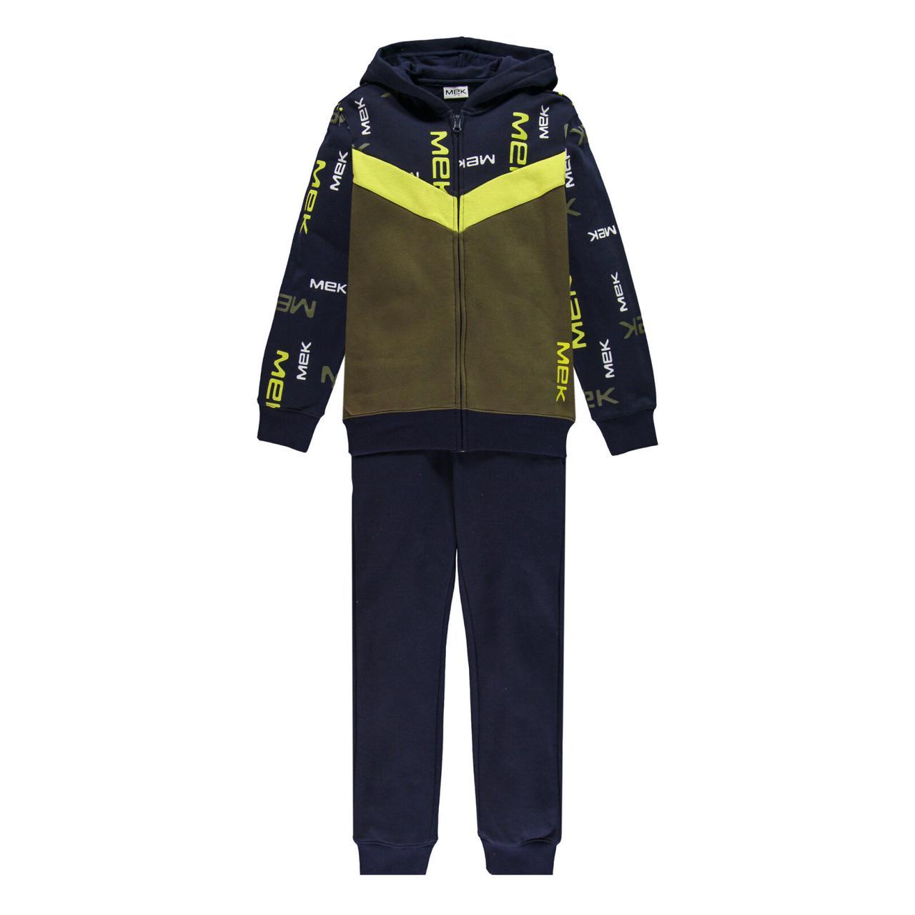 Утеплений спортивний костюм для хлопчика MEK 203MHEP003-677 синій 164