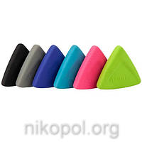 "Ластик Axent 1195 ""Triangle"" мягкий, разные цвета"