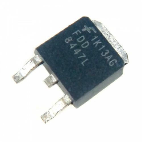 Чип FDD8447L FDD8447 TO252, Транзистор MOSFET N-канальный 40В 50А, 104363