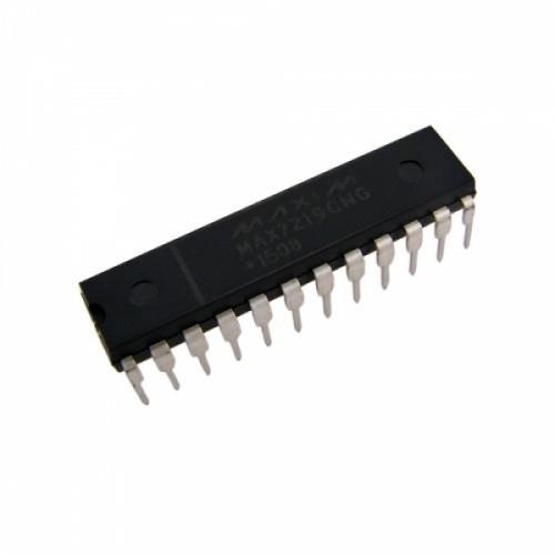 Чип MAX7219CNG MAX7219 DIP24, Драйвер светодиодного LED индикатора, 104405