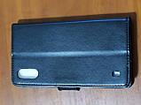 Чохол - книга Premium для Samsung A01 2020 (чорний), фото 2