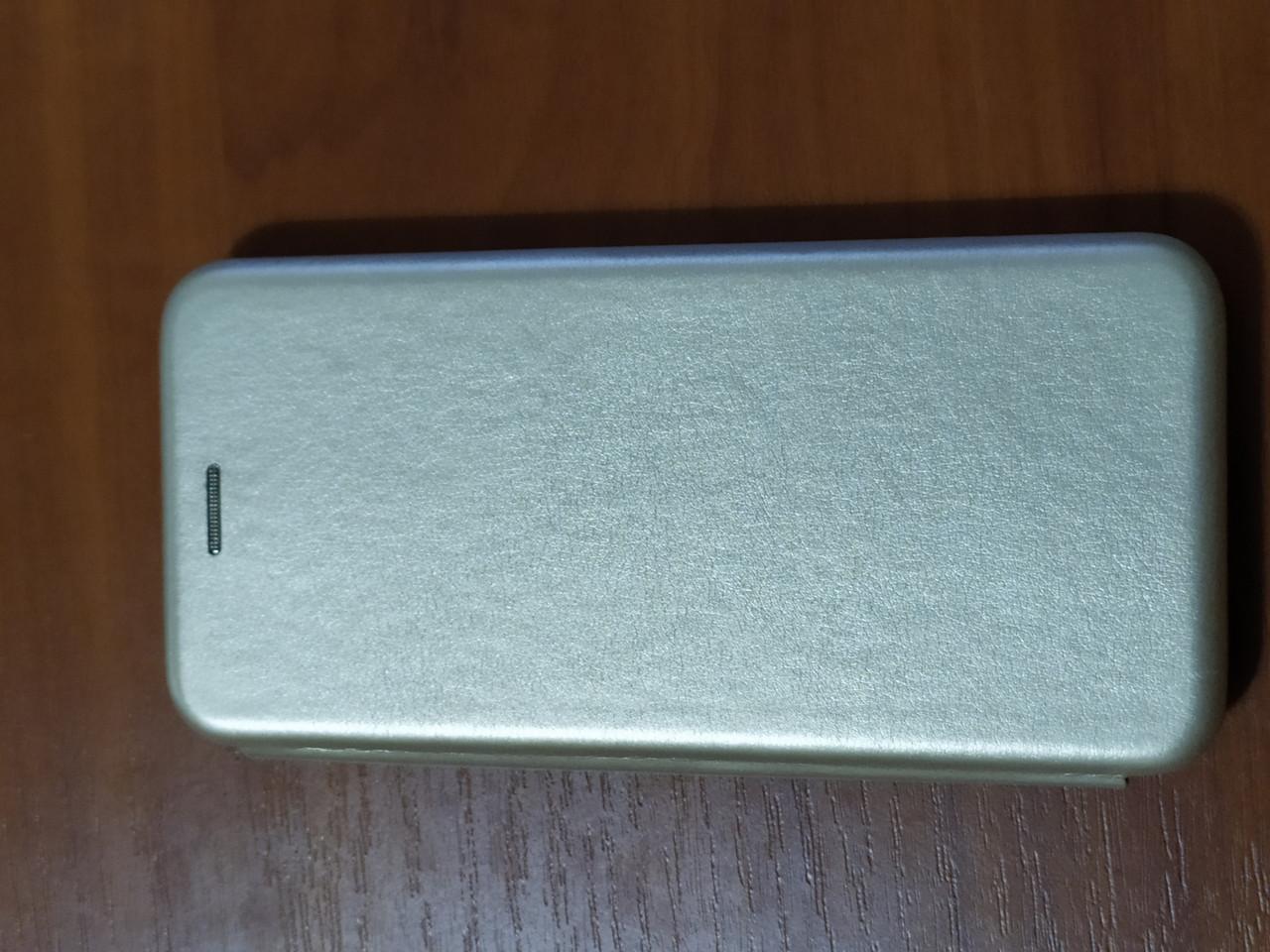 Чехол- книга Premium для Samsung  A31   2020 (золотой)