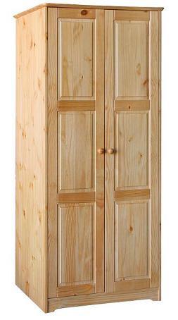 Шкаф из массива дерева 001