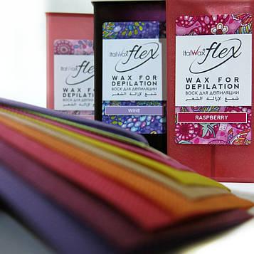Набор для депиляции с воском ItalWax Flex и цветными полосками