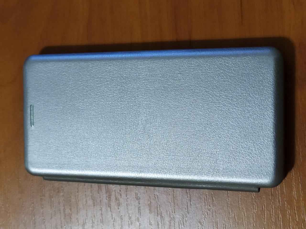 Чехол- книга Premium для Samsung  A31   2020 (серебро)