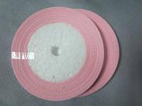 Лента атлас 0,5 см нежно-розовая. Заказ от 5 м, фото 1