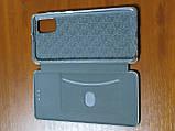 Чехол- книга Premium для Samsung  A31   2020 (серебро), фото 3