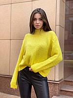 Желтый свитер женский Турция, фото 1
