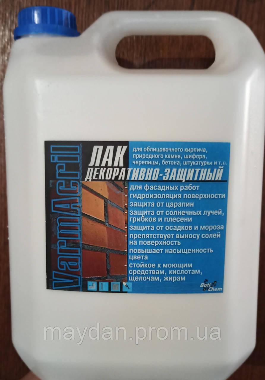 Лак пропитка ТМ Batichem Байконур  «мокрый» эффект по камню 5 л
