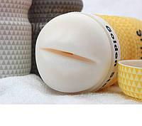 Мастурбатор мужской силиконовый, реалистичный ротик, рот из силикона, фото 1