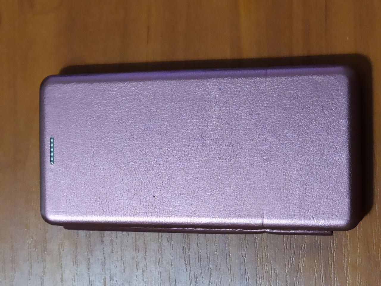 Чехол- книга Premium для Samsung  A31   2020 (бордовый)