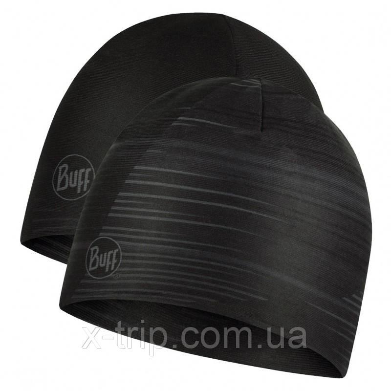 Шапка BUFF® DryFLX Reversible Hat refik black