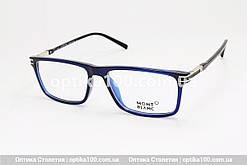 Брендовий чоловічий оправа для окулярів у стилі Mont Blanc