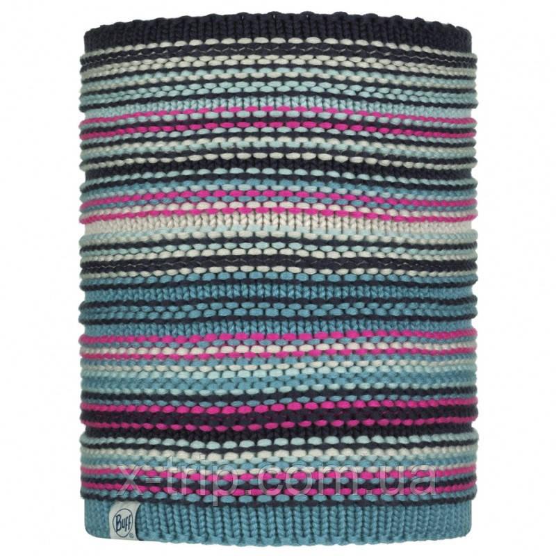 Вязаный снуд BUFF® Kids Knitted & Polar Neckwarmer AMITY night blue