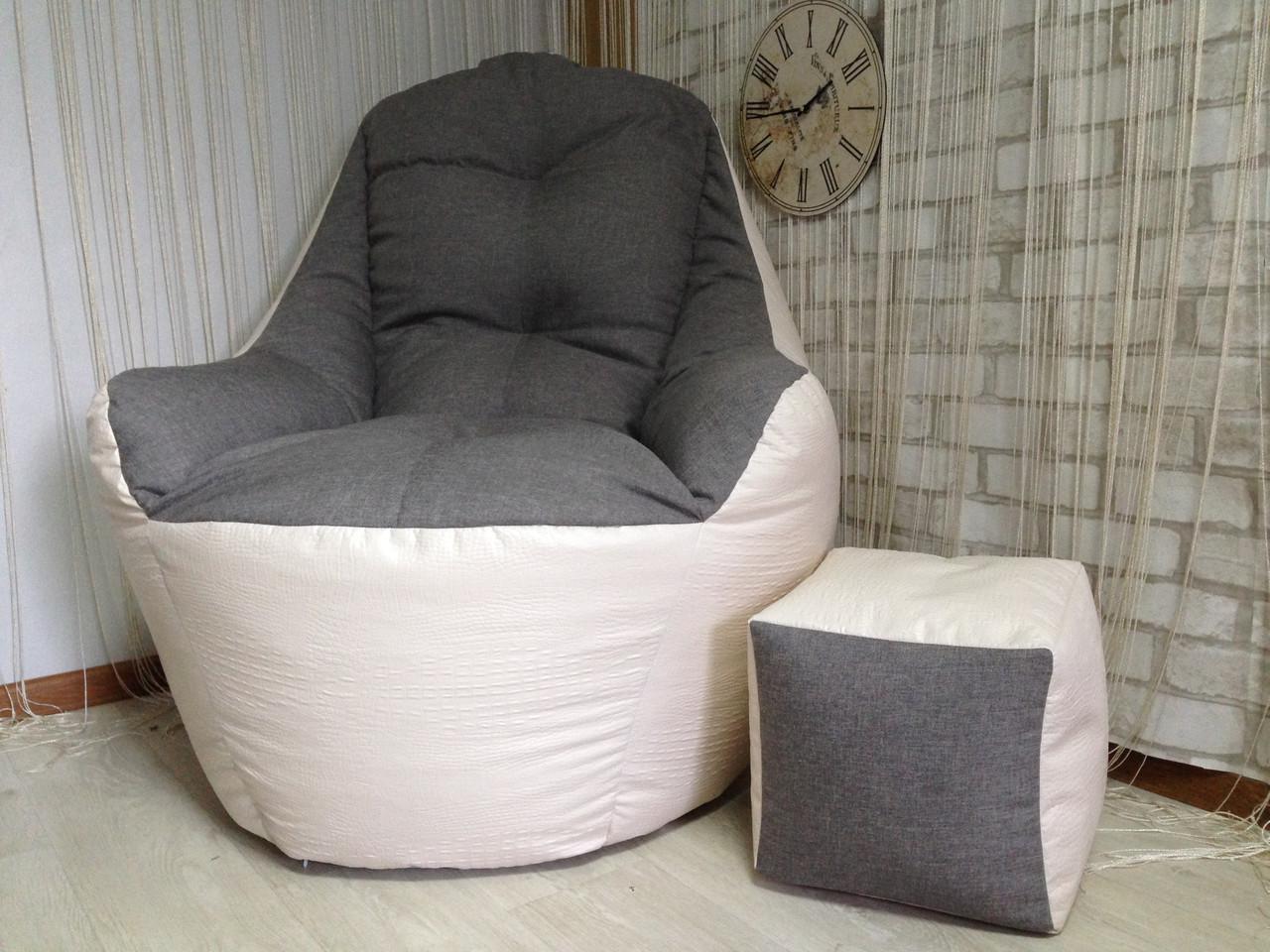 Бескаркасное кресло, кресло BOSS-(95х100х100)