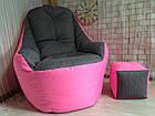 Бескаркасное кресло, кресло BOSS-(95х100х100), фото 2