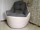 Бескаркасное кресло, кресло BOSS-(95х100х100), фото 3