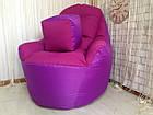 Бескаркасное кресло, кресло BOSS-(95х100х100), фото 4