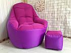 Бескаркасное кресло, кресло BOSS-(95х100х100), фото 7