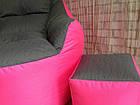 Бескаркасное кресло, кресло BOSS-(95х100х100), фото 9