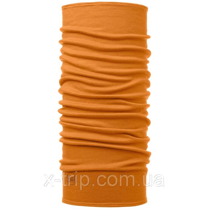 Бафф BUFF® Midweight Merino Wool Solid Inca gold