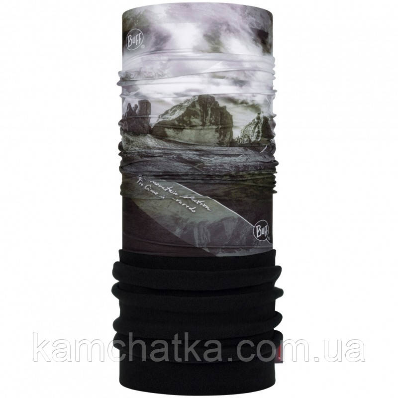 Бафф Polar BUFF® Mountain Collection 3 cime black