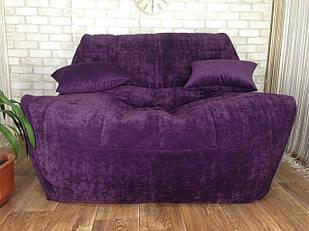 Бескаркасный диван  Люкс, мягкая мебель для детей  (140х110см)
