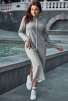 Платье 12-1622 - серый: L XL 2XL 3XL, фото 1